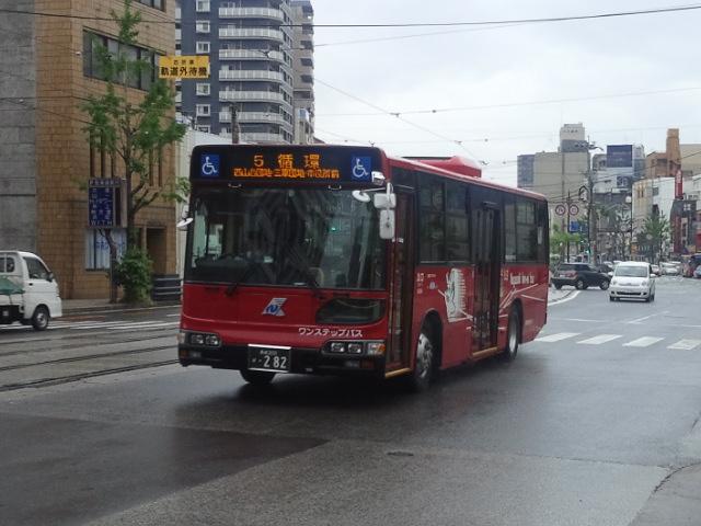 【3995号】バスと路面電車 平成250430